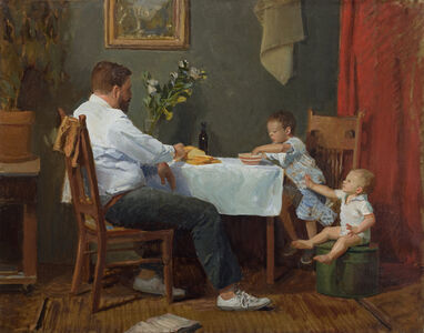 Kelly Carmody, 'Father and Sons', 2018