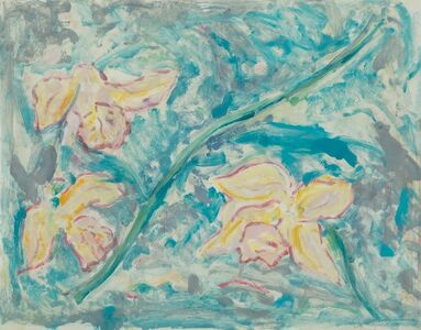 Ed Baynard, 'Daffodils', 1981