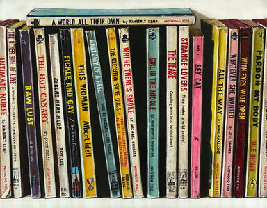 Holly Farrell, 'Pulp Paperbacks (All the Way)', ca. 2020