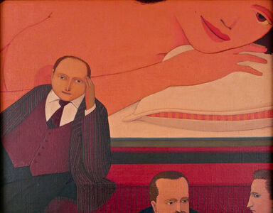 Andrew Stevovich, 'Pillow Talk Bar', 1982