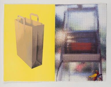 Tim Mara, 'Wire Glass and Carrier Bag', 1996