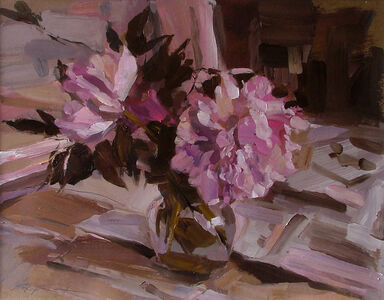 Stephen Scott, 'Peonies', 2016