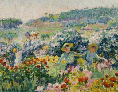 Henri-Edmond Cross, 'La haie des roses', 1904