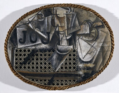 Pablo Picasso, 'Still-life with Chair Caning', Spring 1912