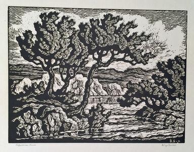 Birger Sandzén, 'REPUBLICAN RIVER', 1945