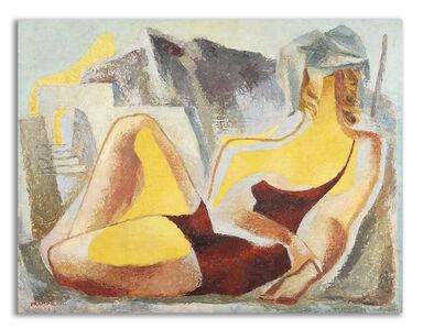 Enrico Prampolini, 'Pittura solare (figura)'