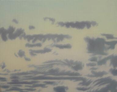 Helen Miranda Wilson, 'Cumulus Clouds, After Sunset', September-1997