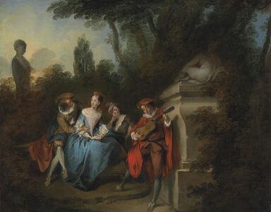 Nicolas Lancret, 'La Récréation Champêtre'