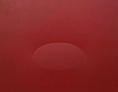 Turi Simeti, '1 ovale rosso', 2016