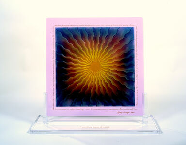 Judy Chicago, 'Fused Mary Queen of Scots in Glass 2 (from Great Ladies)', 1999