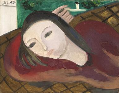 Morris Louis, 'Reclining Woman', 1947