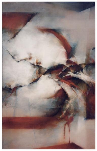 David Mellen, 'Medium Abstract Oil Painting: 'Like Butterflies'', 2013