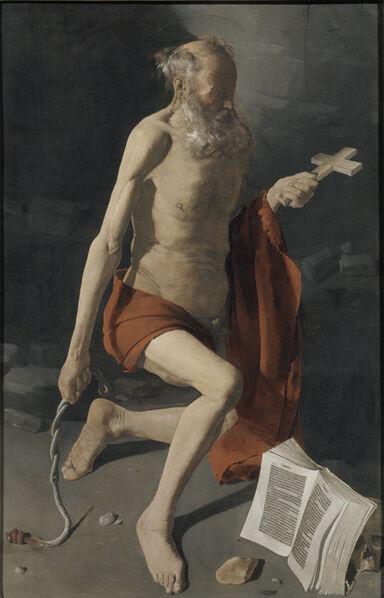 Georges de La Tour, 'Penitent Saint Jerome', 1628-1630