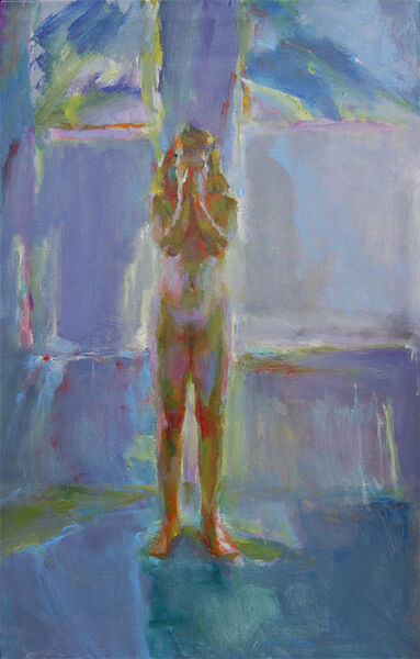 Fred Dalkey, 'Tabitha Covering Her Face', 1994