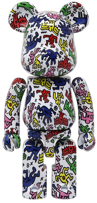 Keith Haring, 'Keith Haring Bearbrick 200% Companion (Haring BE@RBRICK)', 2019, Ephemera or Merchandise, Alloy metal die-cast figure, Lot 180