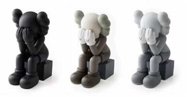 KAWS, 'PASSING THROUGH (SET OF 3)', 2013