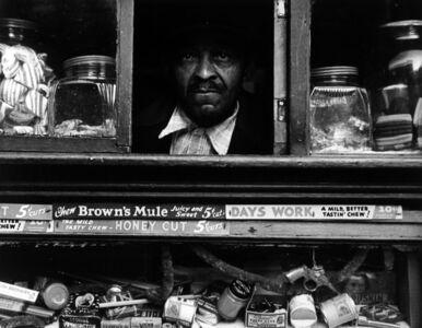 Morris Engel, 'Harlem Merchant, NYC', 1937