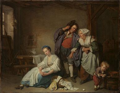Jean-Baptiste Greuze, 'Broken Eggs', 1756