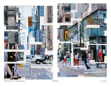 Phil Stein, 'Toronto 56 ', 2018