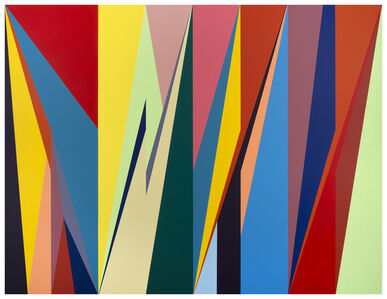 Odili Donald Odita, 'Heat Wave', 2018