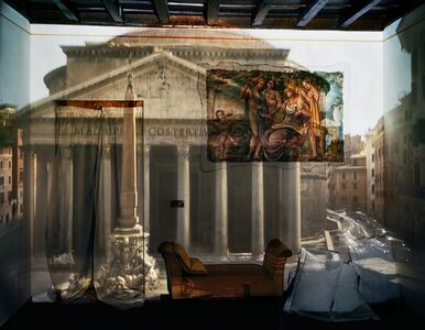Abelardo Morell, 'Camera Obscura: The Pantheon in Hotel Albergo del Sole Room #111, Rome, Italy', 2008