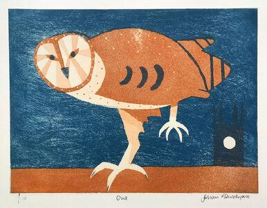 Julian Trevelyan, 'Owl', 1969