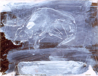 Leon Golub, 'A Sentimental Favorite', 1994