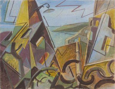Giulio D'Anna, 'Futurist Landscape', 1935