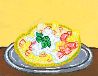 Yukari Sakura, 'Sudan's Pineapple Fruit Plate', 2019