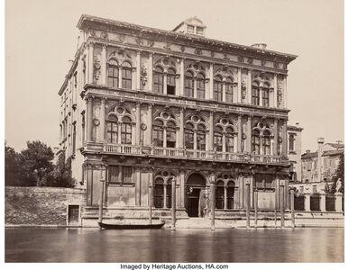 Francis Frith, 'Palazza Pesaro, Venice, Italy; El Escorial, The Monastery; and Royal Palace on the Tagus, Aranjuez, Spain (Three works)', Late 19th century