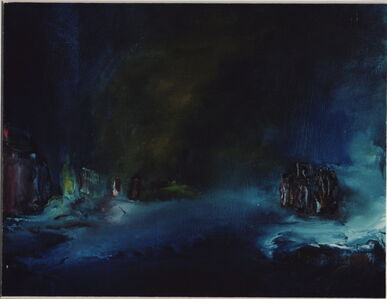 Anne Hefer, 'Aufbruch III', 2001