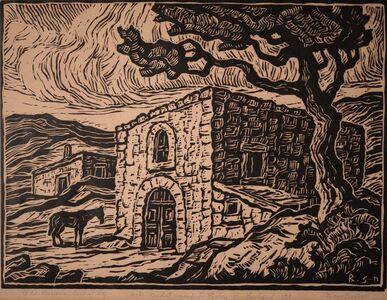 Birger Sandzén, 'Old Reservoir Central City Colorado', 1933