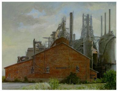 Laurence Schwinger, 'Bethlehem Steelworks', 2019