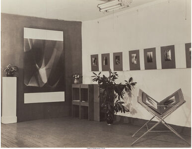 Lotte Jacobi, '46 West 52nd Street and Photogenics No. 25 (two photographs)'