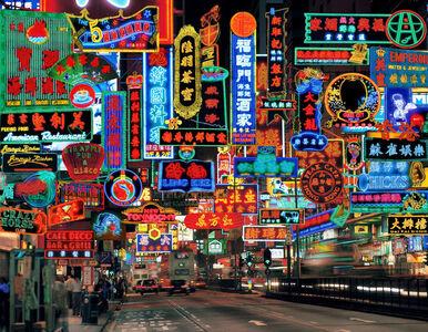 Keith Macgregor, ''Nathan Road Neon Fantasy' Hong Kong', Image taken 1995 / Artwork made 2002