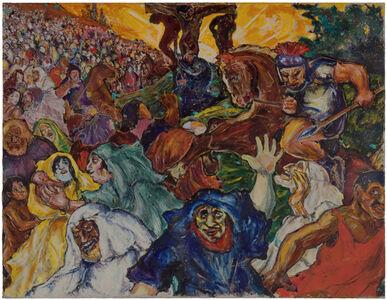 Fritz Ascher, 'Golgotha', 1915
