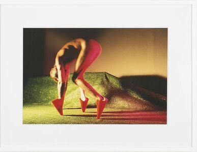 Jimmy DeSana, 'Marker Cones (Blonde, legs close together)', 1987