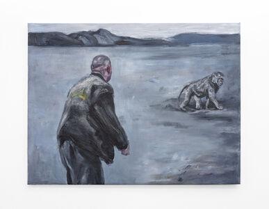 Johann Louw, 'Te voet; skemer', 2020
