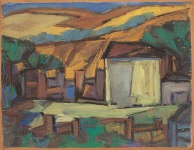 Emanuele Rambaldi, 'Lo steccato', 1953