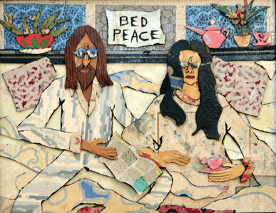 Bill Miller, 'John And Yoko: Bed Peace', 2017