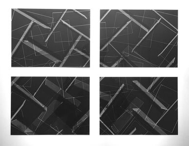 Jan Tichy, 'Photogram-Series', 2016