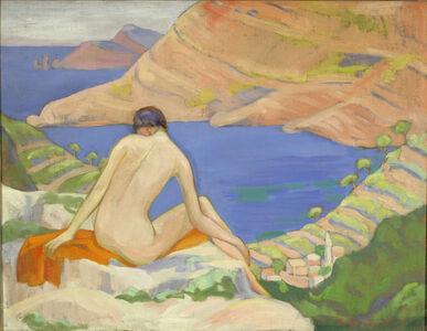 Achsah Barlow Brewster, 'The Gulf of Salerno', ca. 1918
