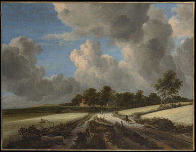 Jacob van Ruisdael, 'Wheat Fields', ca. 1670