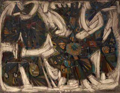 Nikos Kessanlis, 'Vecchio Re (The Old King)', 1958
