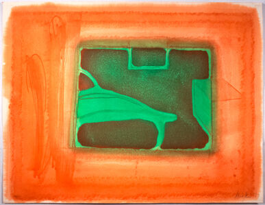 Howard Hodgkin, 'A Furnished Room', 1977