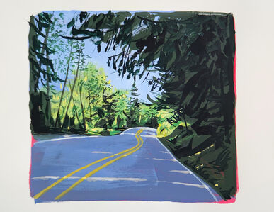 Michael Brophy, 'Highway 53 (The Passenger), 2', 2020