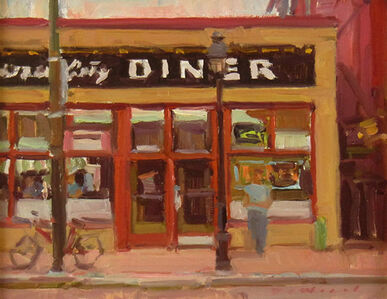Ken DeWaard, 'The Diner', ca. 2015