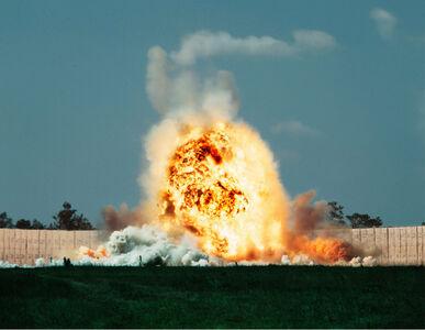 Taryn Simon, 'Exploding Warhead, Test Area C-80C, Eglin Air Force Base, Florida', 2007