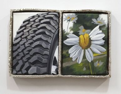 Stephanie Temma Hier, 'Re-group and Re-grout (Fukushima Daisy III)', 2019