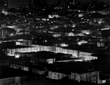 Max Yavno, 'Night View from Coit Tower', 1947
